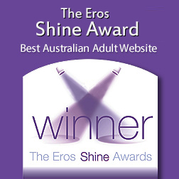 The Eros Shine Award - 2013 Winner Best Australian Adult Website