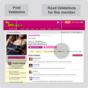 Member Validations interface