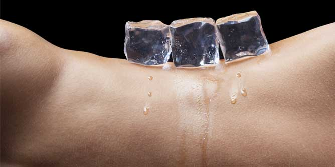 How to heat things up in the bedroom with Ice Cubes