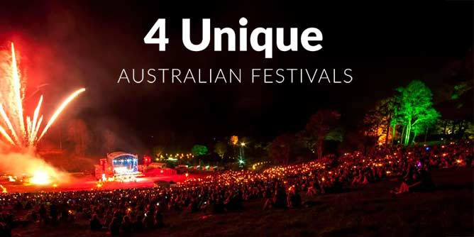 4 Unique Australian Festivals